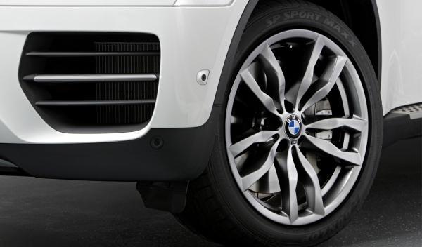 BMW X6 M50d ruedas