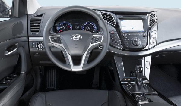 Interior del Hyundai i40 Sedán