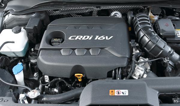 Motor del Hyundai i40 Sedán