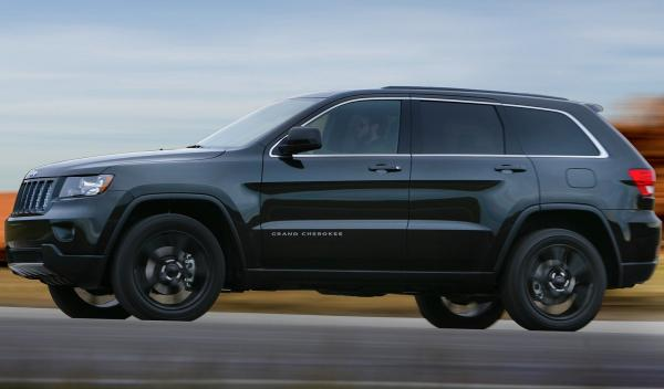 Jeep Grand Cherokee Concept lateral
