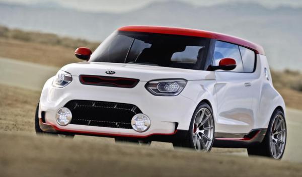 Kia Track'ster Concept frontal