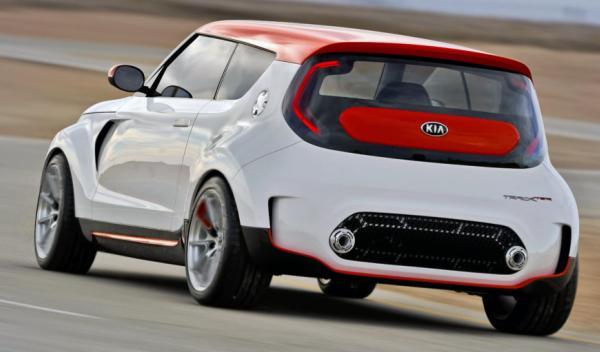 Kia Track'ster Concept trasera