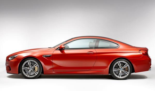 BMW M6 Coupé perfil