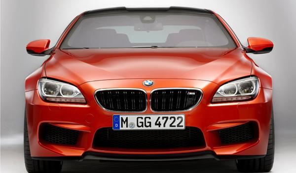 BMW M6 Coupé frontal