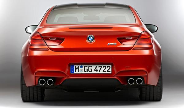 BMW M6 Coupé zaga