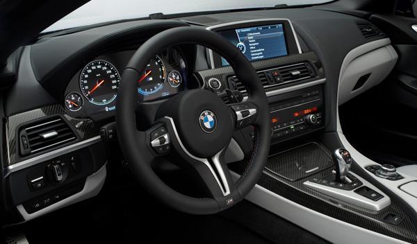 BMW M6 Coupé interior