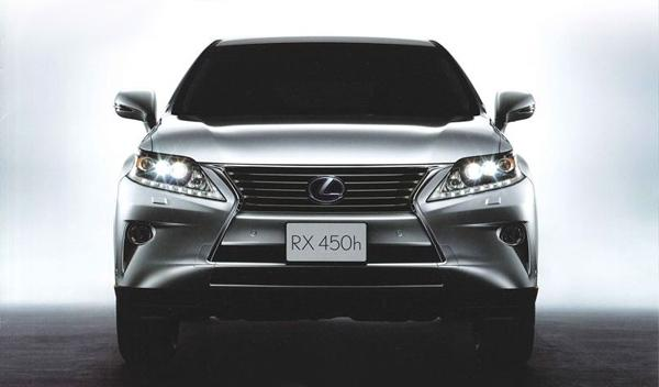 primeras imágenes Lexus RX 2012 parrilla Salón de Ginebra 2012