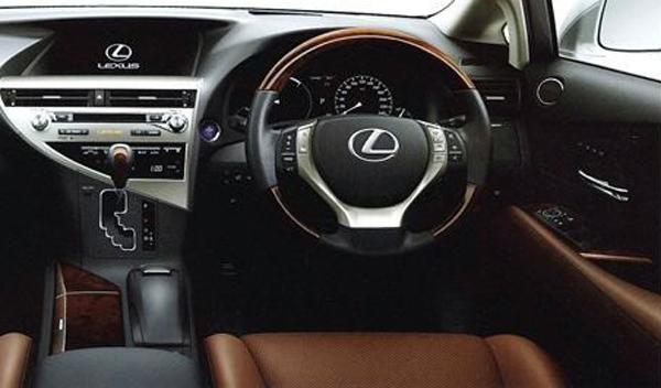 primeras imágenes Lexus RX 2012 salpicadero Salón de Ginebra 2012