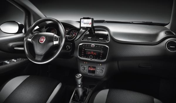 Nuevo Fiat Punto 2012 Interior