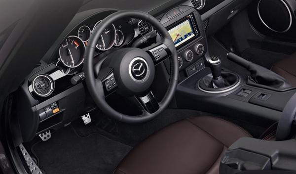 Mazda MX-5 Sport-Tech interior Salón Ginebra 2012