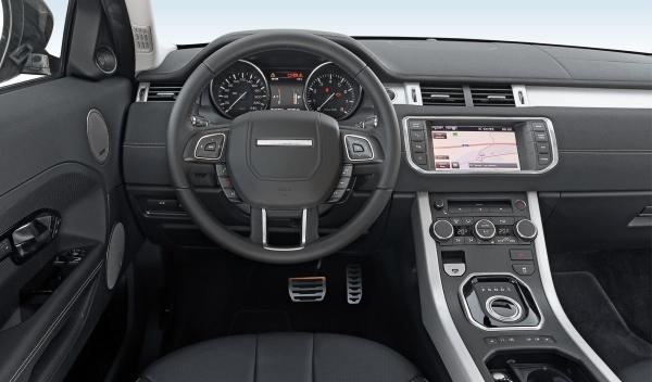 Range Rover Evoque Si4 salpicadero