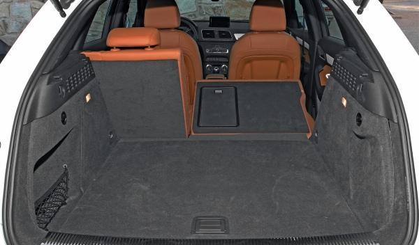 Audi Q3 2.0 TFSI maletero