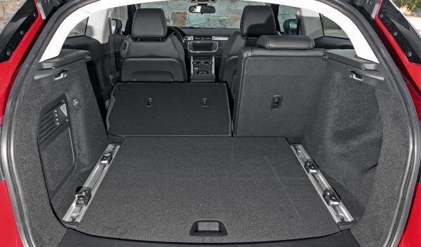 Range Rover Evoque Si4 maletero