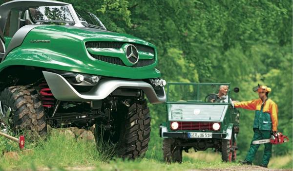 Mercedes Unimog Concept frontal