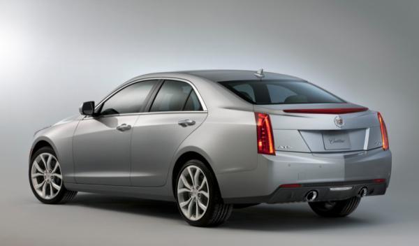 Cadillac ATS 2013 - Salón de Ginebra 2012 trasera