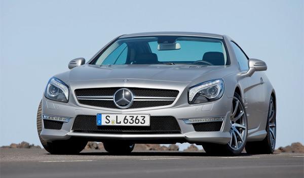 Mercedes SL 63 AMG frontal