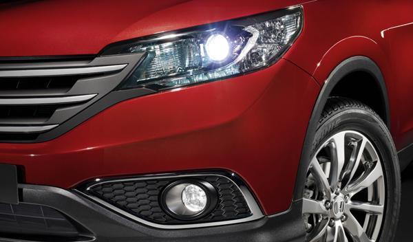 prototipo del Honda CR-V 2012 con nuevos faros