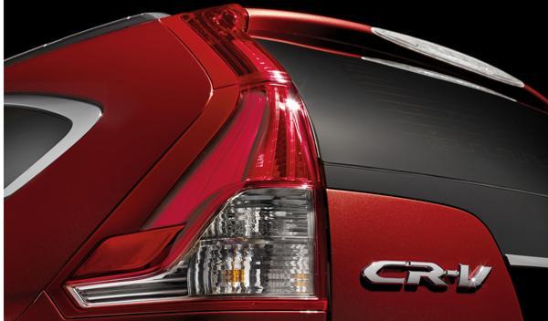 prototipo del Honda CR-V 2012 detalles traseros.