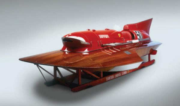 Ferrari Hydroplane 'Arno XI' frontal