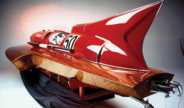Ferrari Hydroplane 'Arno XI' trasera
