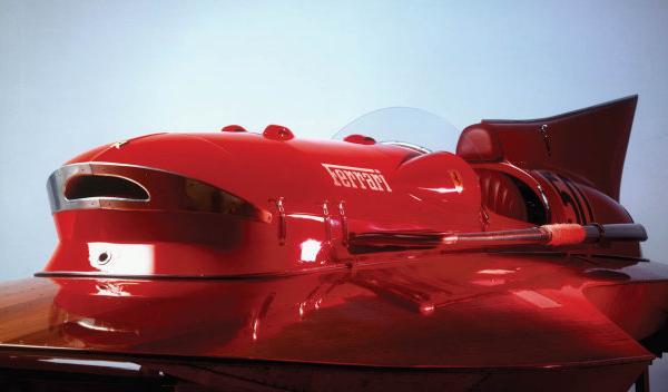 Ferrari Hydroplane 'Arno XI' cabina