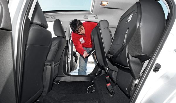 Asientos del Honda Civic 2.2 i-DTEC