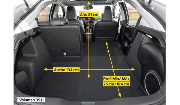 Maletero del Honda Civic 2.2 i-DTEC