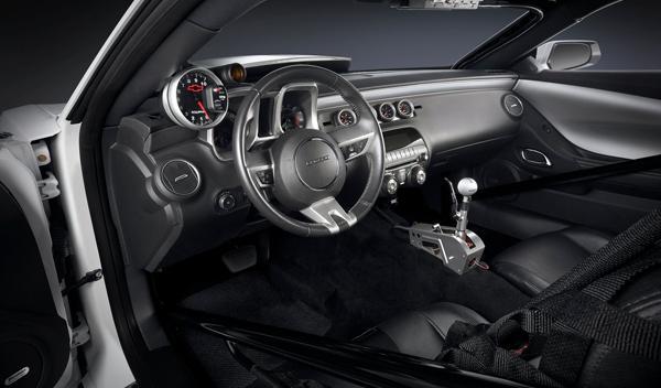 Chevrolet Camaro COPO interior