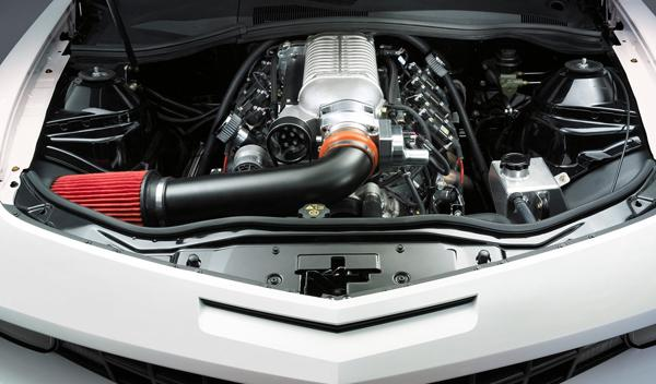 Chevrolet Camaro COPO motor