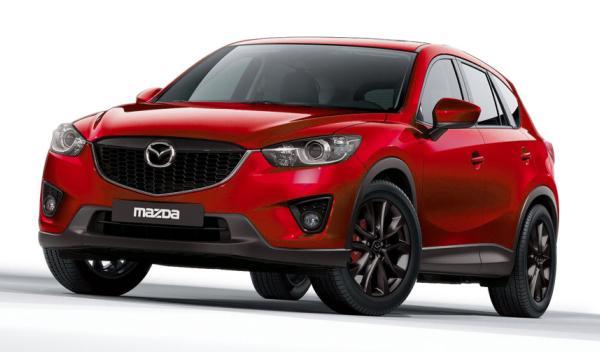 Mazda CX-5 frontal