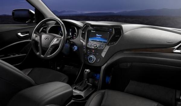 Hyundai Santa Fe 2012 interior