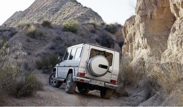 Nuevo Mercedess Clase G 2012 trasera
