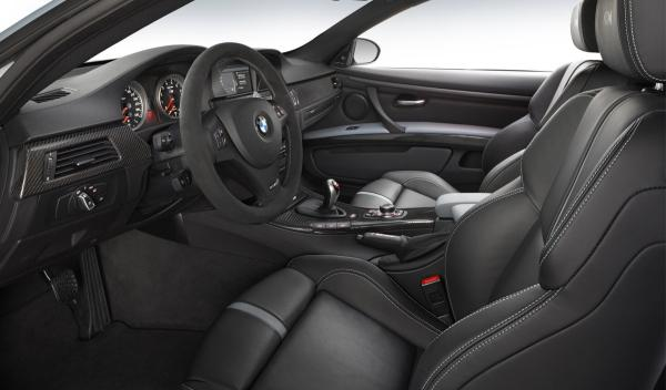 BMW M3 Coupé Frozen Silver Edition interior