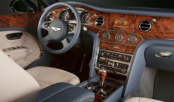 Bentley Mulsanne Diamond Jubilee Limited Edition interior