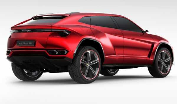 Lamborghini Urus trasera