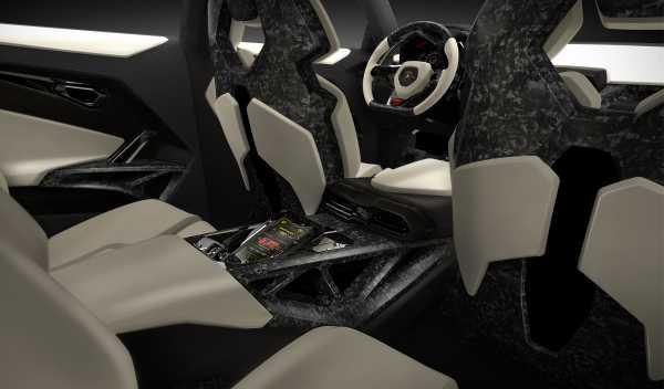 Plazas traseras del Lamborghini Urus