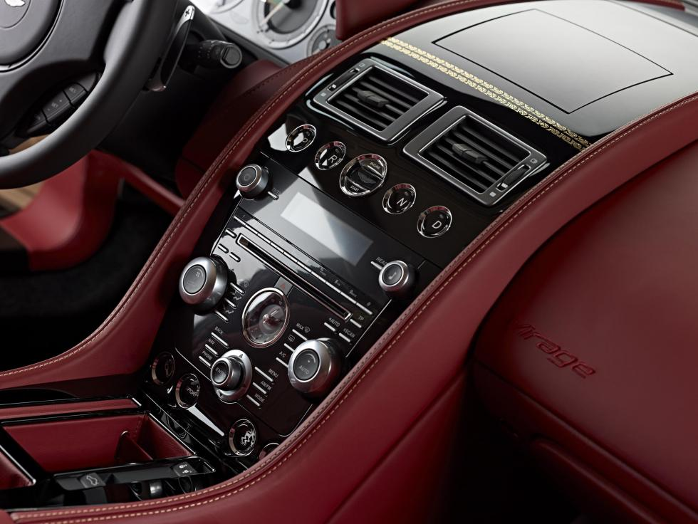 Salpicadero Aston Martin Dragon 88