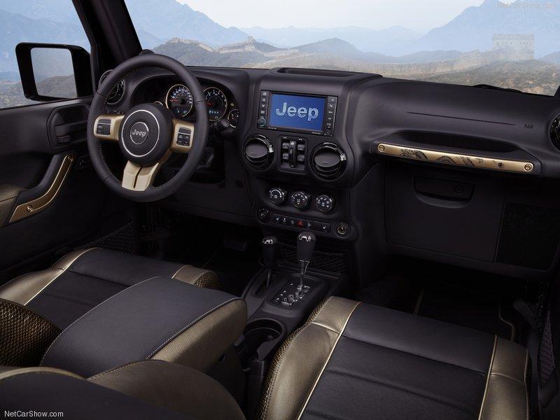 Jeep Wrangler Dragon Concept interior