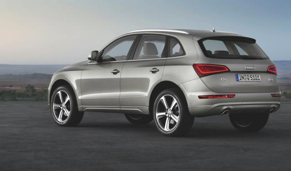Audi Q5 2012 zaga