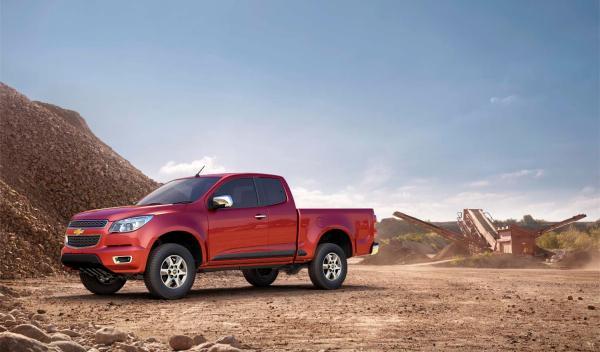 El Chevrolet Colorado 2012 puede cargar como mínimo una tonelada
