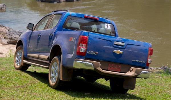 Chevrolet Colorado 2012, la caja se vende sin guarnición