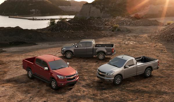 Todas las variantes del Chevrolet Colorado 2012
