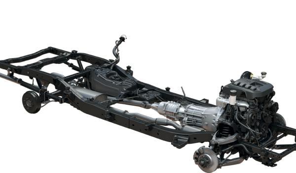 El chasis del Chevrolet Colorado 2012 se desarrolló pensando en los excesos