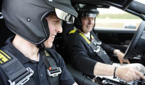 Jaguar 'Nürburgring taxi' conductor