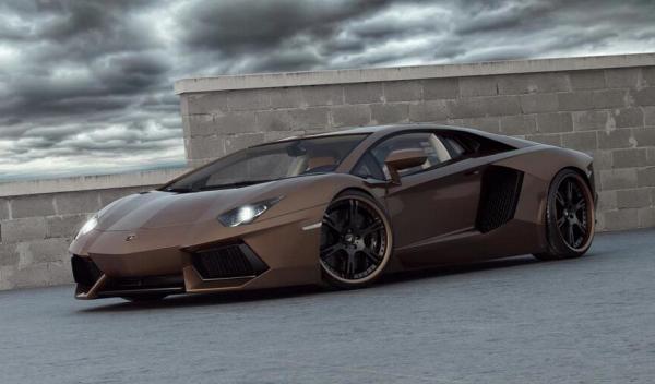 Lamborghini Aventador Chocolate LP777-4