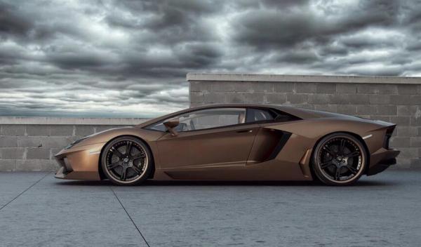 Lamborghini Aventador Chocolate LP777-4 perfil