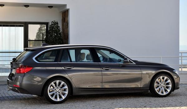 BMW Serie 3 Touring  perfil