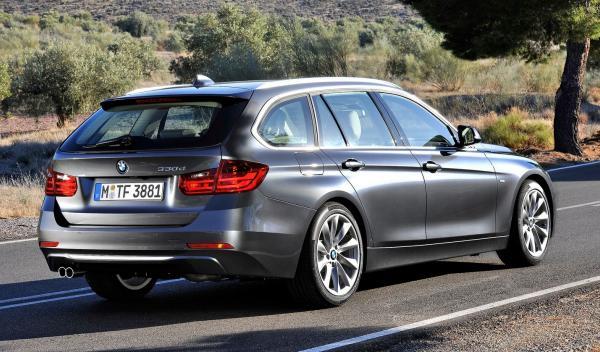 BMW Serie 3 Touring  zaga