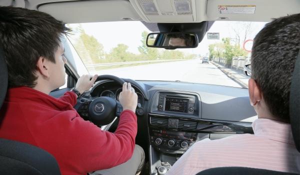 Probador sorpresa Mazda CX-5
