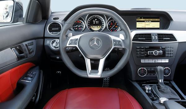 Interior del Mercedes C 63 AMG